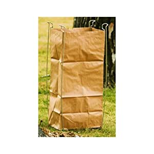 yard paper and poly bag holder patio lawn