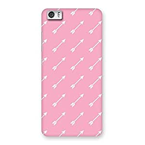 Gorgeous Pink And Arrow Multicolor Back Case Cover for Xiaomi Redmi Mi5