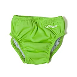 Swim Diaper - Solid Lime Green XL