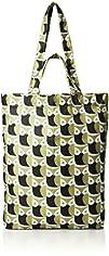 Orla Kiely Little Owl Pack Away Tote Top Handle Bag