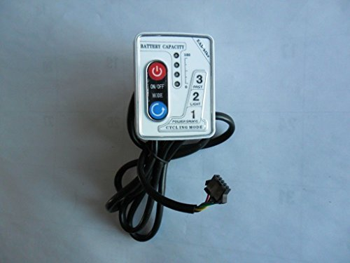 Electric Bike Panel 48V White 5 Wires In Usa