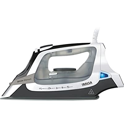 Inalsa Titanium 2000-Watt Steam Iron (White and Grey)