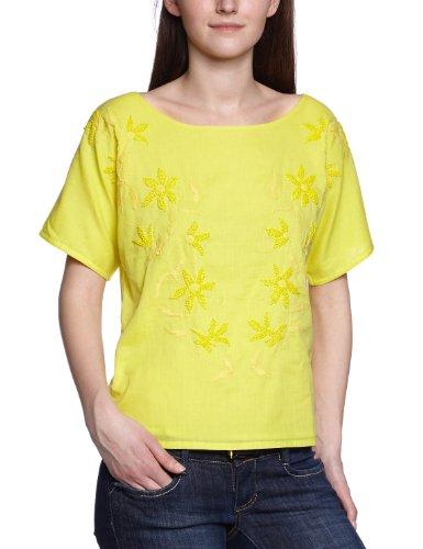 Antik Batik - T-shirt, Donna, Giallo (Gelb (Yellow)), XS