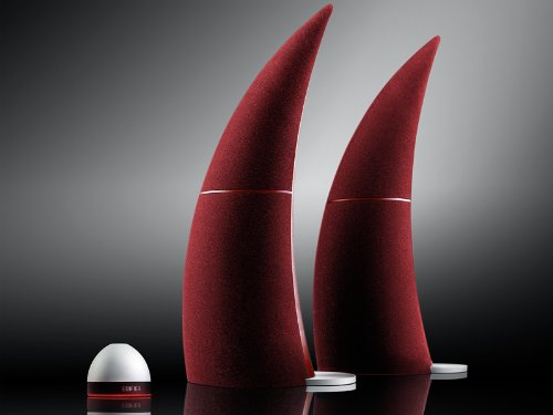Edifier Usa Spinnaker Bluetooth Media Speaker System (Burgundy)