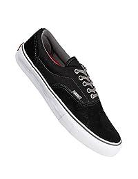 Vans Mens Era Pro Sneakers Black Charcoal Skateboarding Shoes Size 6.5 Mens