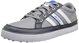 adidas Men\'s Adicross IV Golf Shoe, Light Onix/FTW White, 9.5 M US/9 UK