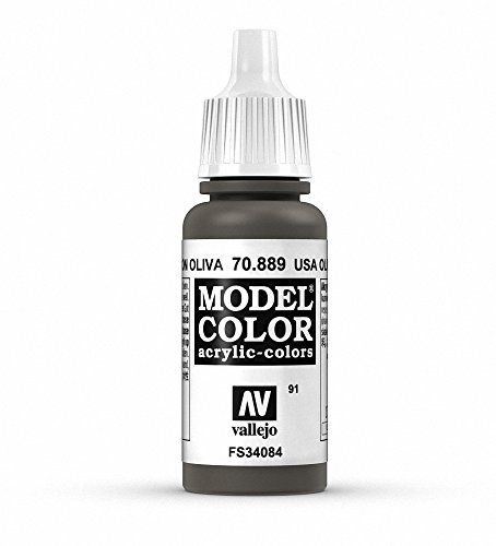Vallejo Olive Brown Paint, 17ml