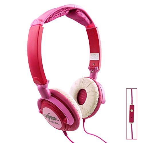 Qulmax ® ARK Benefit M5 Plus Dual / ARK Benefit S502 Plus Dual / ARK Benefit I3 Dual Smartphone Rosa Pieghevole Rotante HD Cuffia ( HSQ09 ) Con Microfono e Telecomando