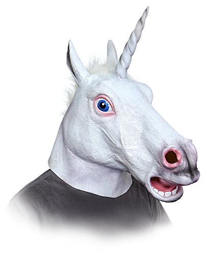 Beauty Funny Halloween Costumes Mask for Masquerade Cosmetics, Coolest Halloween Animal Mask Latex Unicorn Mask Adult Venetian Mask, One Size Fits All, Costume Mask Scary Funny Costumes Female Mask Facial At Home, Cool Hats Masking for Crazy Party