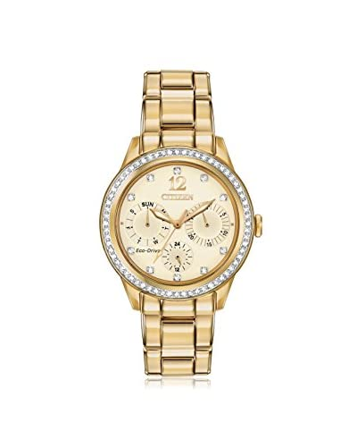 Citizen Women's FD2012-52P Dress Analog Display Japanese Quartz Gold Watch