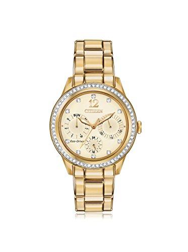 Citizen Women's FD2012-52P Dress Analog Display Japanese Quartz Gold Watch