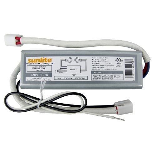 Sunlite 40130-SU SB122/32C120 2 Lamp FC8T9 and FC12T9 Fluorescent Circline Ballast, 120-volt by Sunlite
