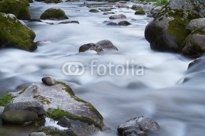 """Wallmonkeys Peel and Stick Wall Decals - Small River with Lots of Stones and Rocks - 18""""W x 12""""H Removable Graphic"""