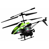 Modelart 4.5 Channel Heli With Bubble Blower, Green