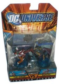 Picture of Mattel DC Universe Fighting Figures Series 1 Batgirl vs. Joker Action Figure 2-Pack (B0011UWQ4Q) (Mattel Action Figures)
