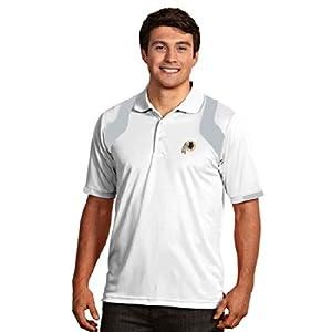 Washington Redskins Fusion Polo (White) by Antigua