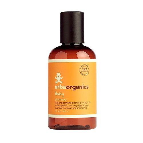 Erbaorganics Baby Shampoo, 6 Ounce