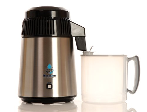 Water Distiller with Polypropylene Collection Bottle