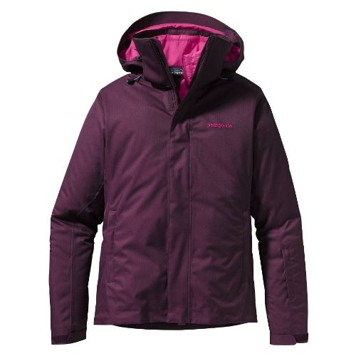 Patagonia Damen 3in1 Snowbelle Jacket Skijacke Outdoor Funktionsjacke deep plum