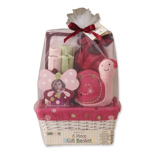 Raspberry Swirl Basket Gift Set