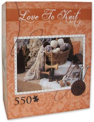 Love to Knit Jigsaw Puzzle 550 Pcs