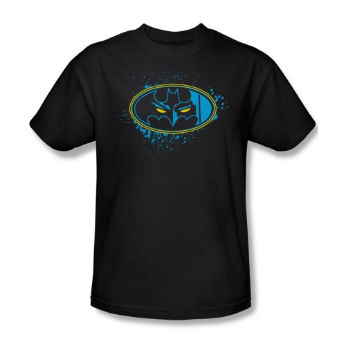 DC Comics Batman Eyes In The Darkness Black Adult Shirt BM1390-AT
