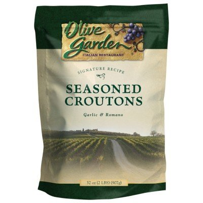 Olive Garden Seasoned Croutons Garlic & Romano 32oz (2lb) bag