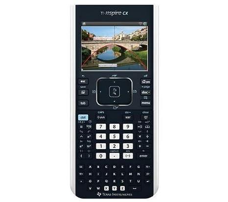 Calculatrice scientifique TI-NSPIRE CX + LOG