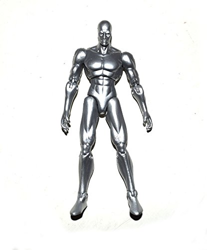 """Marvel Legends Fantastic Four Movie Silver Surfer 6"""" Loose Action Figure"""