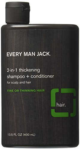 Every Man Jack 2-in-1 Thickening Shampoo plus Conditioner - 13.5 oz (Shampoo And Conditioner For Men compare prices)