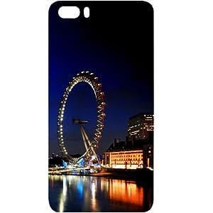 Casotec London Eye Design Hard Back Case Cover for Huawei Honor 6 Plus