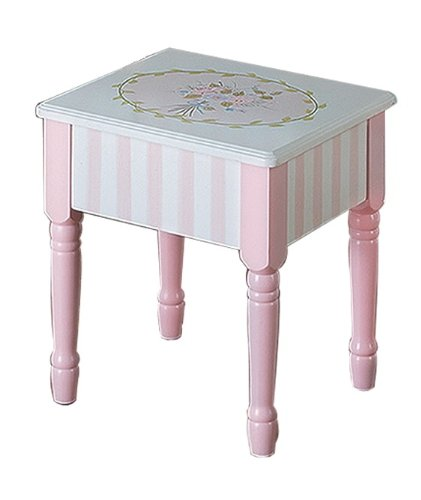 Cheap Toys For Kids Reason to Buy Teamson Kids Girls Vanity Stool ...