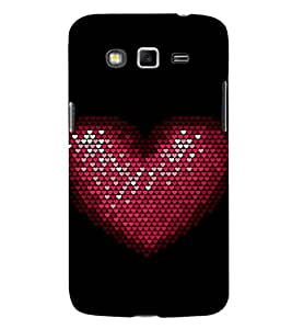 EPICCASE Heart Beat Mobile Back Case Cover For Samsung Galaxy Grand Max (Designer Case)