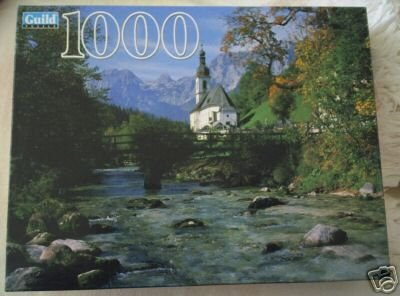 Ramsau Bavaria Germany 1000 Piece Guild puzzle by Hasbro