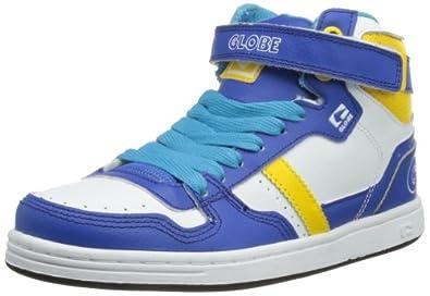 Globe Superfly Kids, Jungen Skateboardschuhe, Blau (13018 Cobalt White), 36 EU