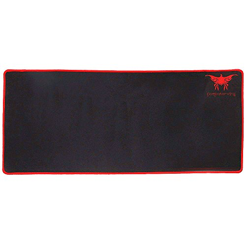 Combaterwing Extended Gaming Mouse Pad Anti-slip Rubber Base 2mm Thick NEW