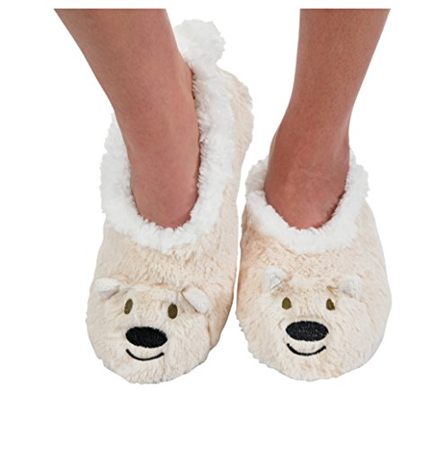 Polar Bear Slipper SocksWomens