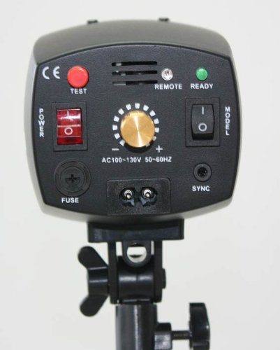 180 Watt Studio Strobe/Flash Light Great for Main, Fill, or Back Lighting!