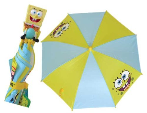 Buy Nick Jr Spongebob Squarepants Umbrella Kids Raingear