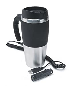 12V, Travel Mug, Stainless Steel
