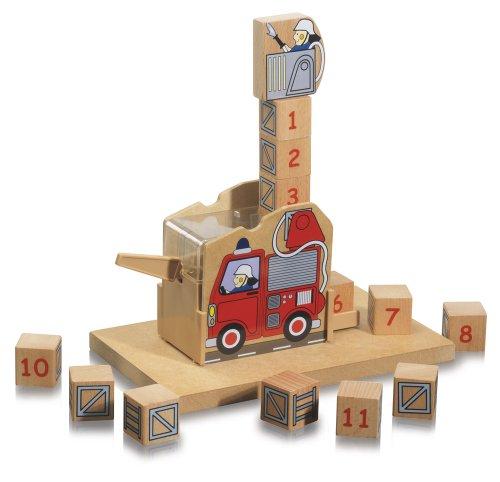 Imagen 1 de Eichhorn 100004901 - Juego de construcción con números (20 x 12 cm, 19 piezas) (Simba Dickie)