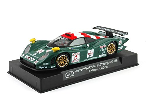 Slot.It Porsche 911 GT1 Evo 98 #5 FIA GT Donington Park 1998 Performance Slot Car (1:32 Scale)