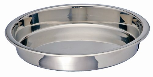 Kitchen Supply Stainless Steel Round Cake Pan, 9-Inch