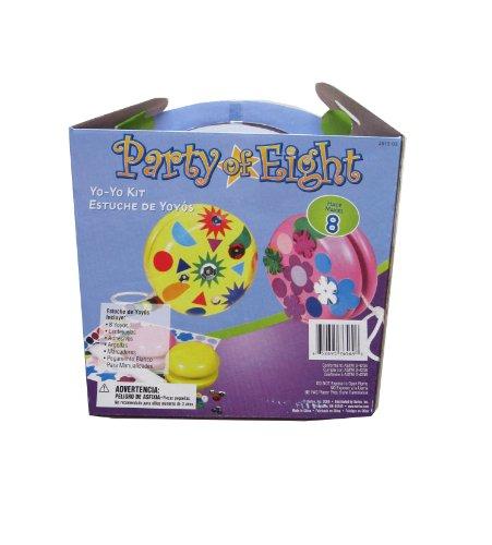 WeGlow International Make Your Own Yo Yo Kit 8 pack (each) (Make International compare prices)