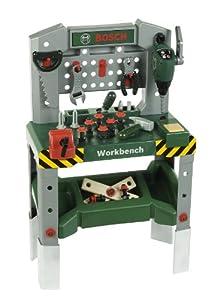 Bosch Toy Workbench with Sound, Adjustable Height