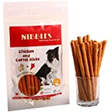 Nibbles Carrot Sticks Dog Treat - 100 Gm