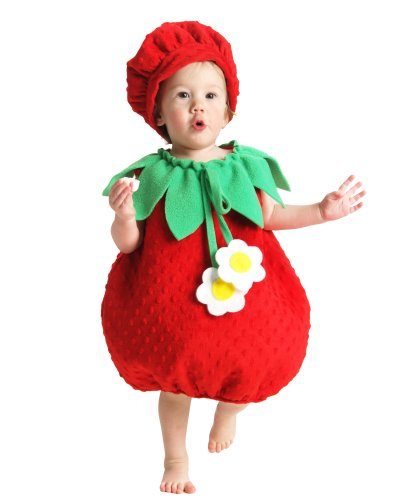 Princess Paradise – Strawberry Infant / Toddler Costume – Infant (12-18M) image
