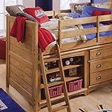 Lea Kids Austin Twin Complete Low Loft Bed