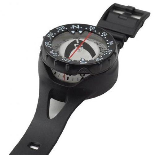 Oceanic Wrist Mount Compass for Underwater Navigation for Sc