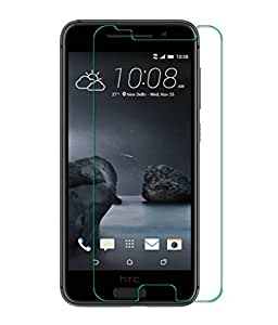 HTC One A9 Compatible Tempered Glass Screen Protector (Antishock, Curved Edged) (Pack of 2, Only Front Transparent Screen Protector) (Combo Offer, get a VJOY 5200 mAh Power-Bank WHITE) (1 Year Replacement Guarantee, Li-ion Battery, Long Battery-Life) worth Rupee 1599/- absolutely free with Screen Protector)